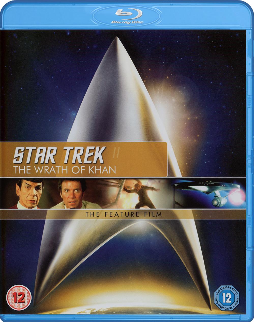 Star Trek II The Wrath of Khan Blu-ray cover Region B