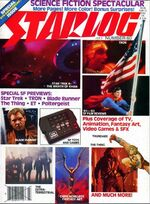 Starlog issue 060 cover