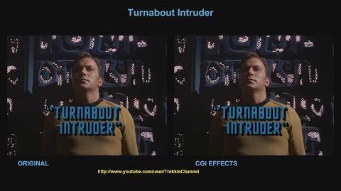 """TOS """"Turnabout Intruder"""" - """"L'importun"""" - Comparaison des effets spéciaux"""