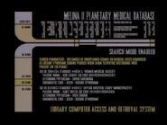 Violations, base de données médicale planètaire de Melina II, original 2