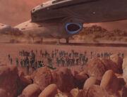 Eine neue Zivilisation auf dem Dämonplanet
