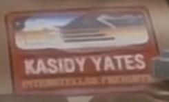 Kasidy Yates cargo label