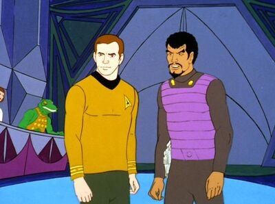 Kirk und Kor in Elysia