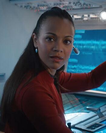 "Lt. Nyota Uhura (<a href=""/wiki/2263"" title=""2263"">2263</a>)"