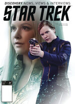 Star Trek Magazine US issue 69 PX cover