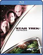 Star Trek Nemesis Blu-ray cover Region A