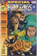 TNG special 1 comic cover