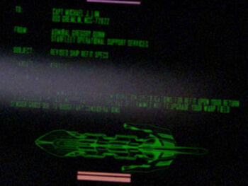 Starfleet Command order received by the USS <i>Gremlin</i> in 2364