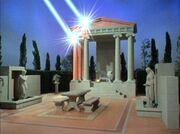 Apollo's temple under attack, remastered