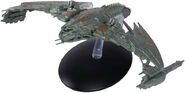 Eaglemoss SP4 Klingon D4 Class Patrol Ship