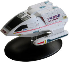 Eaglemoss Type-8 Shuttlecraft