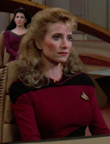 Ensign Gibson in 2365