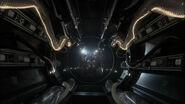 Romulan drone ship corridor