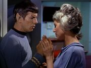 Spock und Chapel