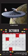 Star Trek Calendar 2017 interior October