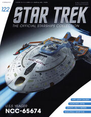 Star Trek Official Starships Collection issue 122