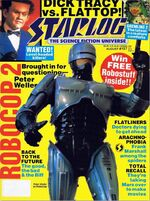 Starlog issue 157 cover