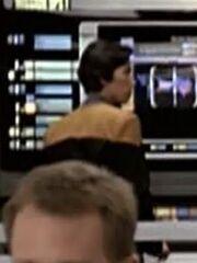 Sternenflottenoffizier Technik USS Voyager 2376
