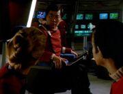 Sulu sees Janeway