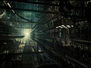 Borg cube interior, remastered