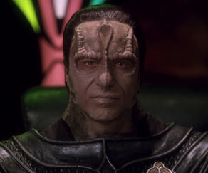 Legate Damar, a Cardassian male (2375)