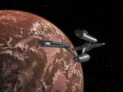 Die Enterprise erreicht Ardana