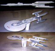 Excelsior Class 4-engine original concept designs by Nilo Rodis