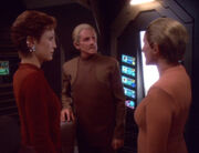 Kira Nerys, Odo, and the Female Changeling