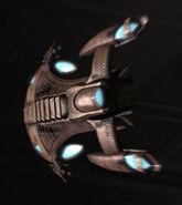 Osaarian merchant ship, aft