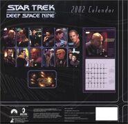 Star Trek DS9 Calendar 2002 back