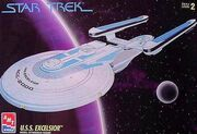 AMT Model kit 6630 USS Excelsior 1994