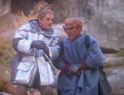 Quark und Odo 2373