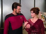Riker meets Brenna