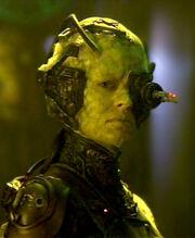 Seven of Nine as Borg, 2374