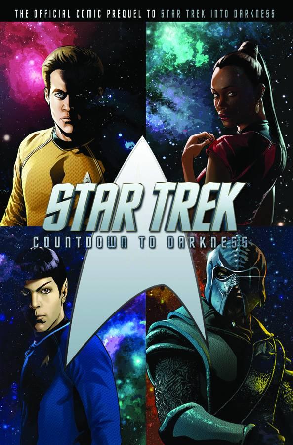 Star Trek Countdown to Darkness tpb cover