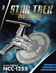 Star Trek Discovery Starships Collection issue 3