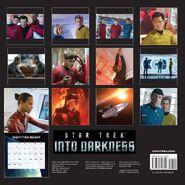 Star Trek Into Darkness Calendar 2014 back