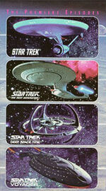 Star Trek The Premiere Episodes VHS