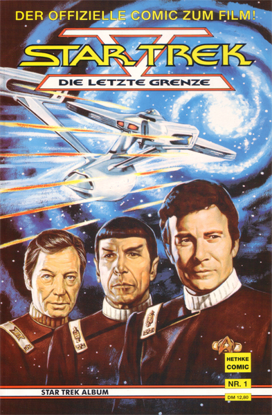 Star Trek V - Die letzte Grenze (Comic)