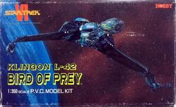 Tsukuda Model kit Klingon L-42 Bird of Prey