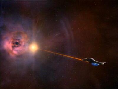 Voyager am Ereignishorizont