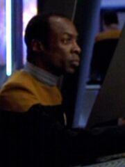 Besatzungsmitglied USS Voyager Maschinenraum 2371