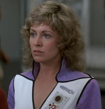 "Dr. Gillian Taylor, time traveler (<a href=""/wiki/2286"" title=""2286"">2286</a>)"