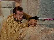 Kirk firing type 2 phaser, 2266