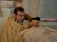 Kirk firing type 2 phaser, 2266