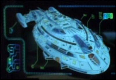Kriegsschiff Voyager graphik