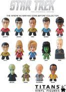 Star Trek Titans WNMHGB Collection figures