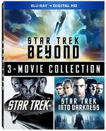 Star trek (film 2009), star trek into darkness, star trek beyond (blu-ray) trilogy collection canada 2016