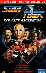 TNG Vol 10 UK Rental VHS cover