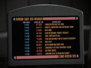 Voyagers Sensor logs